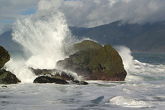 Shelter Cove, California - Stormy weather in Shelter Cove
