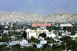 Wazir Akbar Khan neighborhood in Kabul, Afghanistan