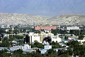 Wazir Akbar Khan, Kabul - Image: Wazir Akbar Khan neighborhood