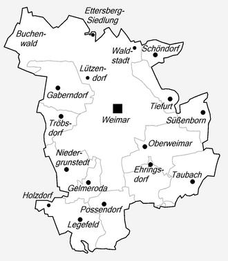 weimar karte deutschland Weimar – Wikipedia