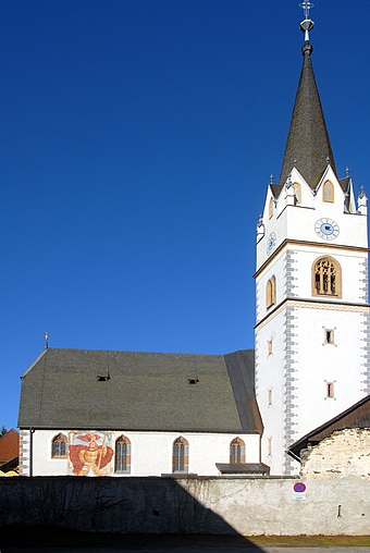 Weitensfeld im Gurktal, Carinthia (Austria) - CRW Flags
