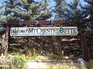 Mount Crested Butte, Colorado Town in Colorado, United States