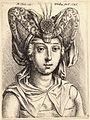 Wenceslas Hollar - Woman with a turban, after Schongauer.jpg