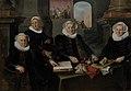 Werner van den Valckert - Drie regentessen en de binnenmoeder van het leprozenhuis te Amsterdam - SA 7419 - Amsterdam Museum.jpg