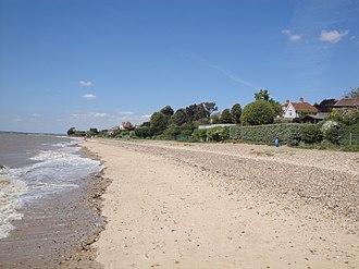 Mersea Island - Image: West Mersea beach 2