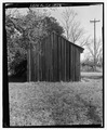 West front and south side - Seed House, State Highway 3-U.S. Highway 19 at Croxton Cross Road, Sumter, Sumter County, GA HABS GA-12-2.tif