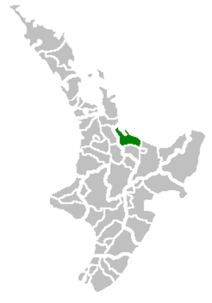 Western Bay of Plenty District - Image: Western Bay of Plenty Territorial Authority