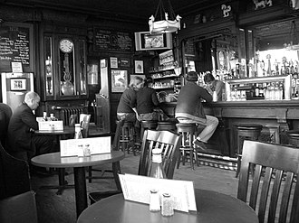 White Horse Tavern (New York City) - The Interior in January 2007