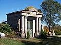Whitehead (S. P.) Mausoleum, Brush Creek Cemetery, 2015-10-26, 02.jpg