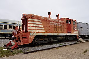 EMD NW2 - MKT No. 1029 at the Wichita Falls Railroad Museum