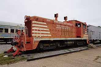 Missouri–Kansas–Texas Railroad - MKT EMD NW2 No. 1029 at the Wichita Falls Railroad Museum