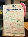 WikidataCon 2019 Happy Birthday.jpg