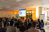 Wikimedia Hackathon Vienna 2017-05-19 opening 01.jpg