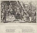 Willem II, hertog van Gelre, onderwerpt zich aan het gezag van Karel V, 1543 Overwinningen van Karel V (serietitel) Divi Caroli. V. imp. opt. max. victoriae, ex multis praecipuae (serietitel), RP-P-1936-152.jpg