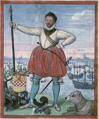 Geuzen - William II de la Marck (1542-1578), a leader of the Sea Beggars.