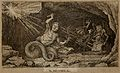 William Cobbett as a porcupine with a snake's tail with two Wellcome V0050198.jpg