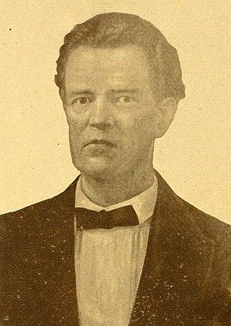 2nd Confederate States Congress - William Parish Chilton