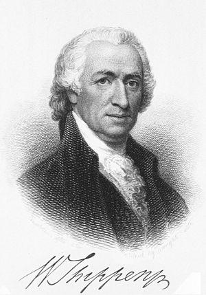 William Shippen Jr. - Image: William Shippen b 1736