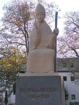 Willibrord - Willibrord Memorial at Trier