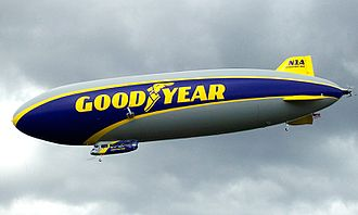 Goodyear Blimp - Wingfoot One (N1A) is not actually a blimp, but rather a semi-rigid airship.