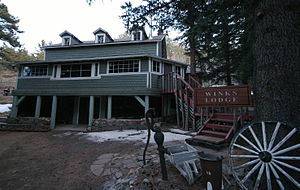 Winks Panorama - Image: Winks Lodge Pinecliff CO