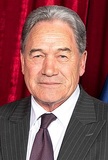 Winston Peters New Zealand politician