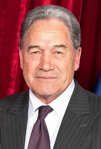 Populist leader Winston Peters of the New Zealand First party Winston Peters, 2018.jpg