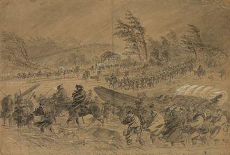 "Mud March (American Civil War) - ""Winter Campaigning"""