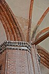 Wismar, St. Georgen, Gewölbeansicht 7.JPG
