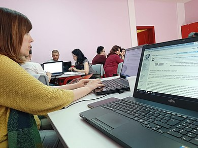 WoALUG's Wikipedia training for teachers 1.jpg