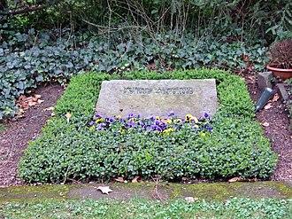 Wolfgang Abendroth - Wolfgang Abendroth's grave