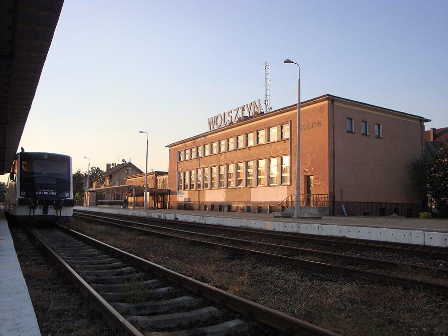 Wolsztyn railway station