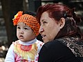 Woman and Child - Chapultepec Park - Mexico City - Mexico (15236204597).jpg