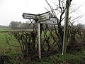 Worcestershire road sign - geograph.org.uk - 299952.jpg