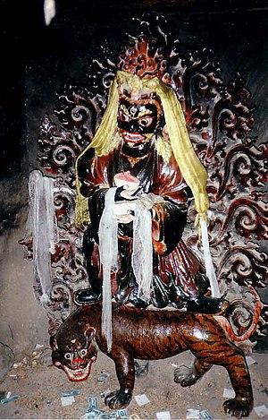 Kumbum - Image: Wrathful Deity, Gyantse
