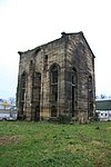 Vertical winding engine house at the former Wynnstay Colliery, Plas Madoc
