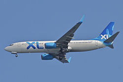 Boeing 737-800 der XL Airways France