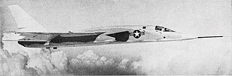 North American A-5 Vigilante - A YA-5C prototype, 1963