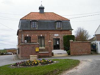 Yonval - The town hall in Yonval