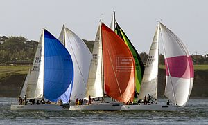 Round the Island Race - Yachts participating in the 2010 event.