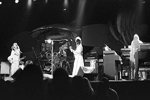 Tales from Topographic Oceans - Anderson, White, Squire and Wakeman performing in February 1974 during the album's tour.