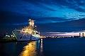 Yokoahama Coast Guard Office at dawn; September 2015.jpg
