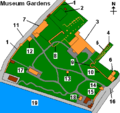 York Museum Gardens numbered.PNG