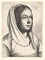 Young woman with a scarf on her head, after Bonsignori MET DP823775.jpg