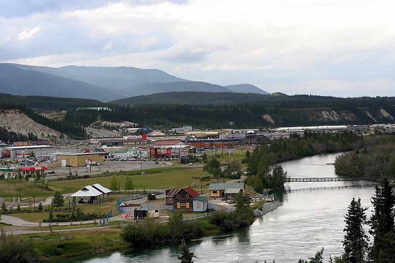File:Yukon River at Whitehorse -a.jpg