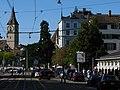 Zürich - Bellevue - Limmatquai - St. Peter IMG 4452.JPG