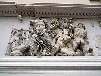 Zeus contra Poryphion, Pergamonmuseum Berlin