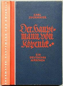 Der Hauptmann Von Köpenick Zuckmayer Wikipedia