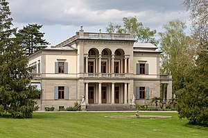 Mathilde Wesendonck - The villa of Otto and Mathilde Wesendonck in Zurich, Switzerland