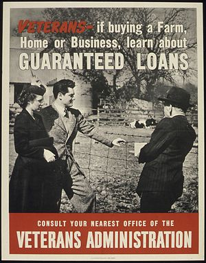 """VETERANS, IF BUYING A FARM, HOME OR BUSI..."
